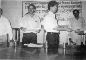 G.M. DIC,Shri Sudhansu Mishra, On the ocasion of valedictory Function-3
