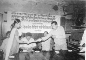 Shri Rajeev Pandey, Khadi & Village Industries Officer Almora-1