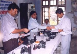 Shri S.B.Bhattacharyaji, Regional Employment officer,On the ocasion of valedictory Function-6